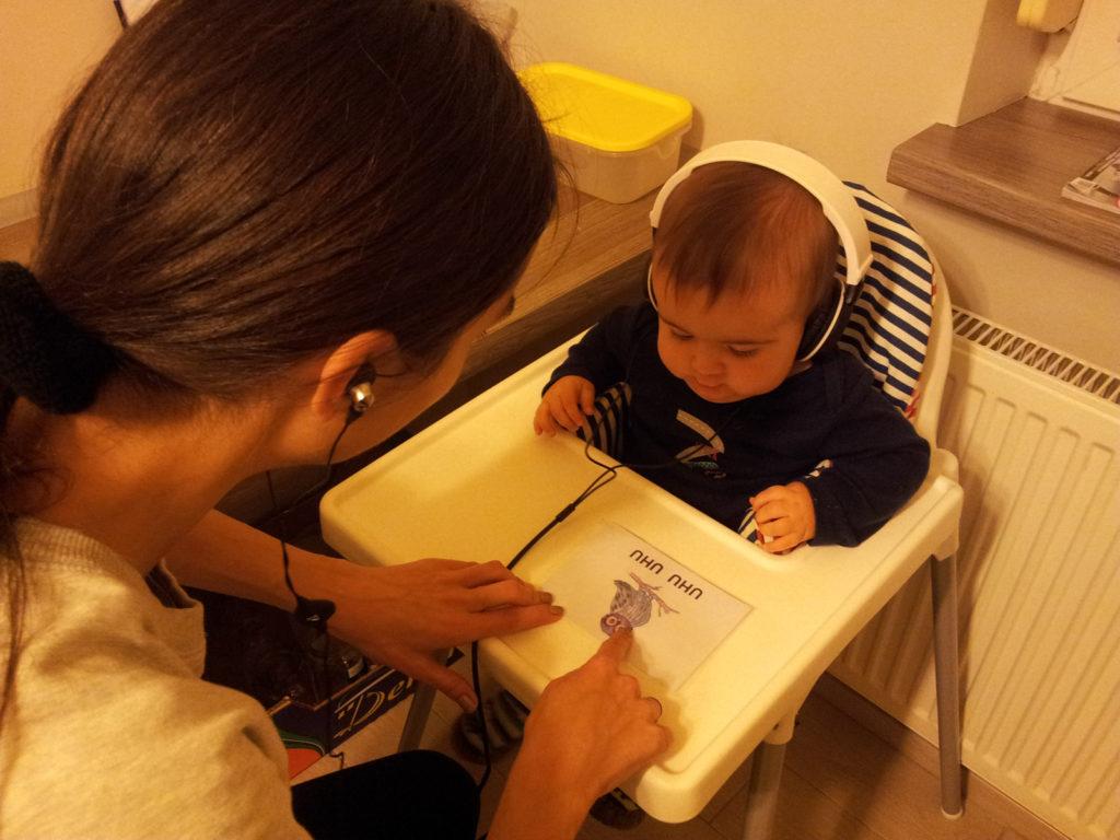 Ćwiczenia z programem słuchowym Elżbiety Wianeckiej Słucham i uczę się mówić
