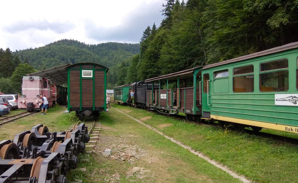 Skansen Bieszczadzkiej Kolejki Lesnej