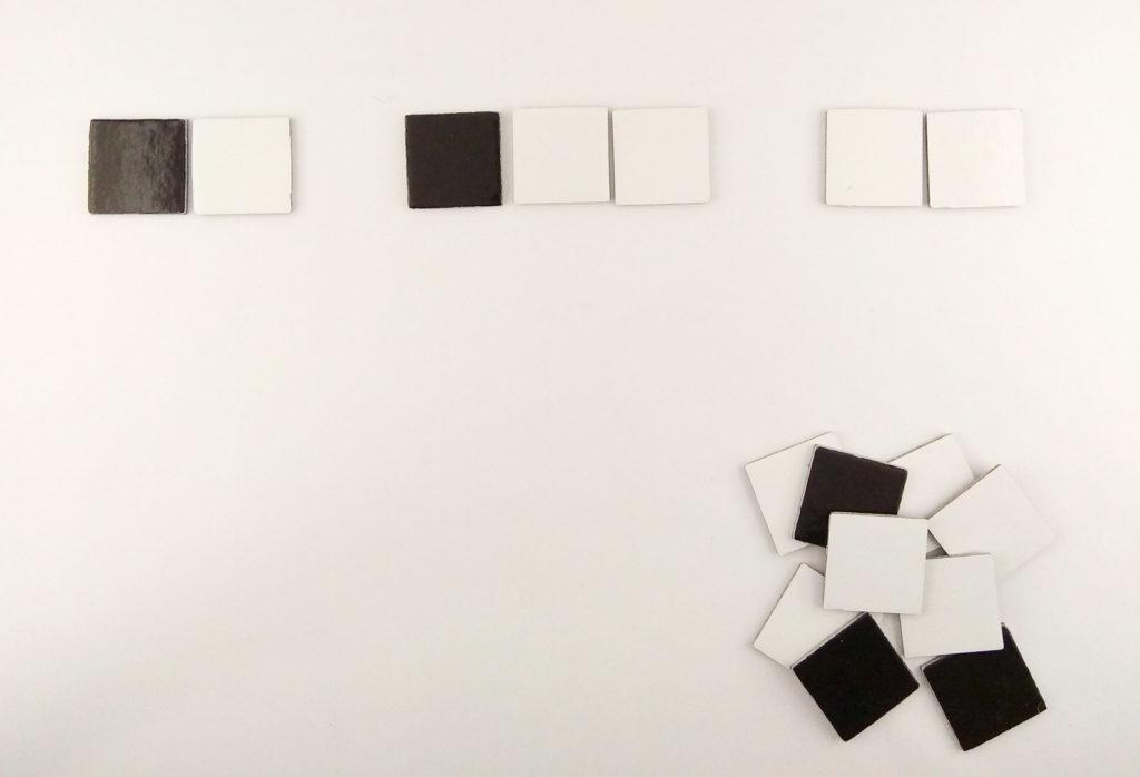 arson ukladanki lewopolkulowe biale czy czarne uzupelnianie sekwencji