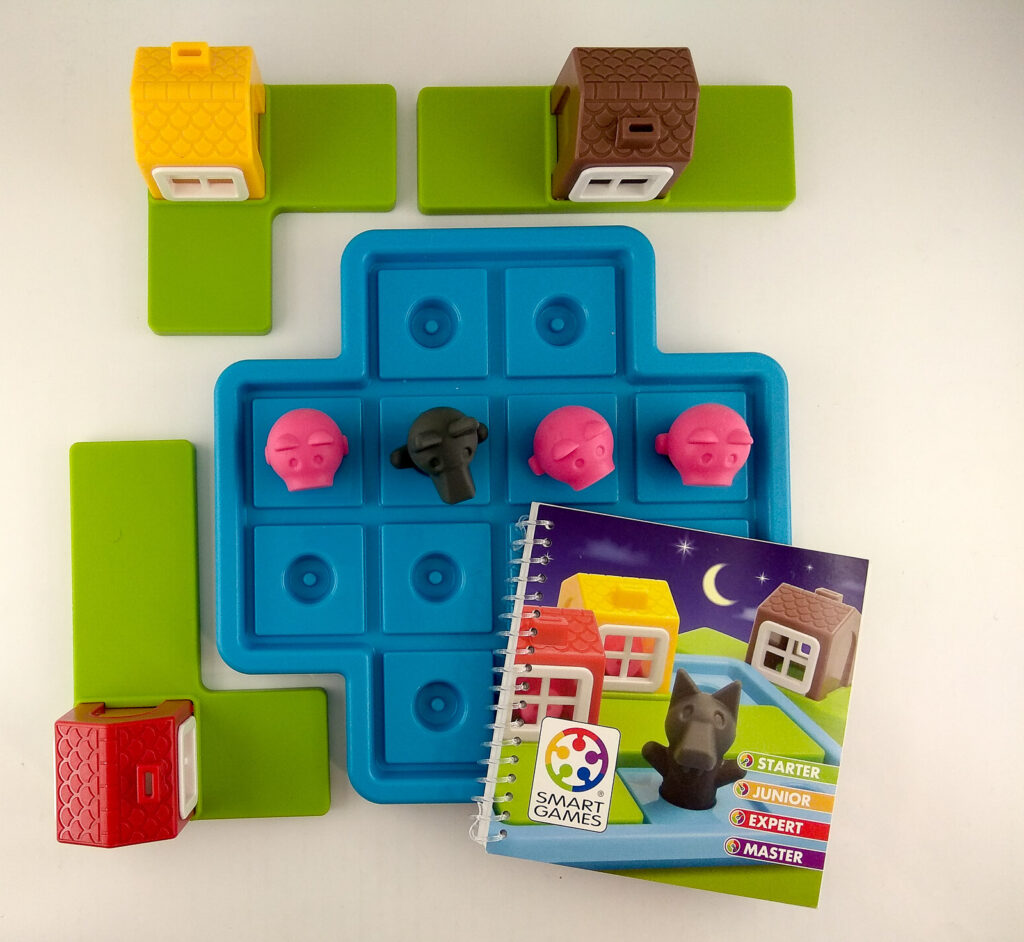 smart games trzy male swinki three little piggies 8 1