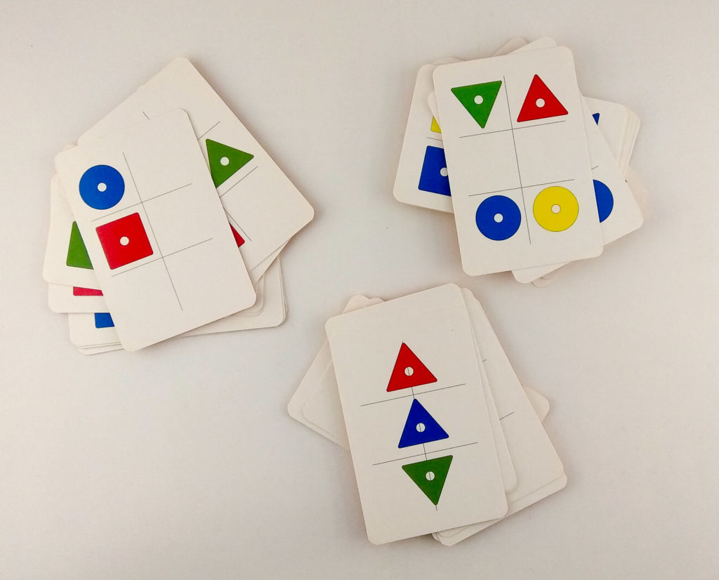 wzory kolory memory karty