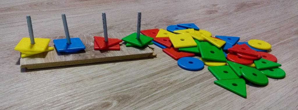 wzory kolory memory kategoryzacja wedlug koloru