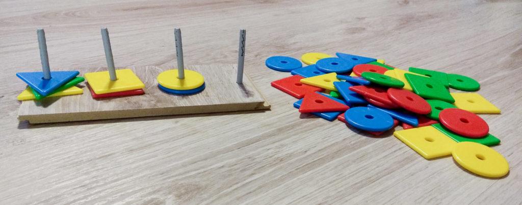 wzory kolory memory kategoryzacja wedlug ksztaltu