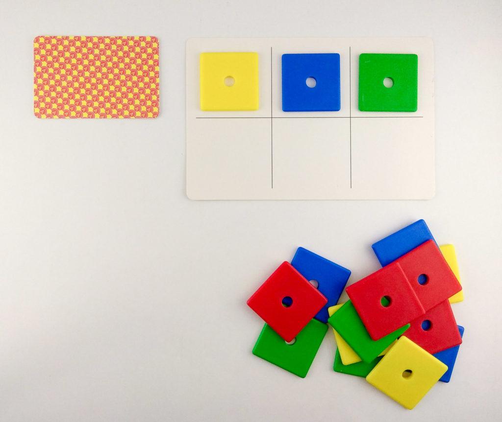 wzory kolory memory ukladanie wedlug wzoru z pamieci
