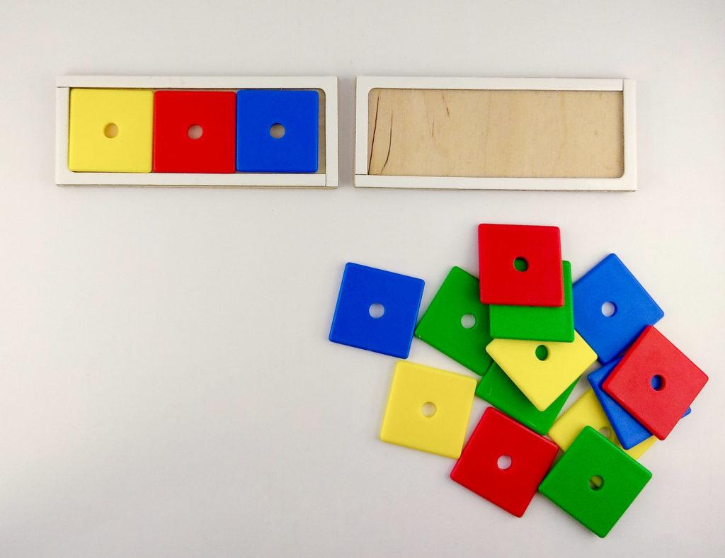 wzory kolory memory ukladanie wedlug wzoru