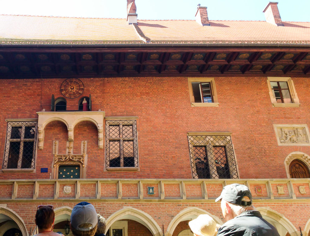 atrakcje dla dzieci krakow collegium majus zegar