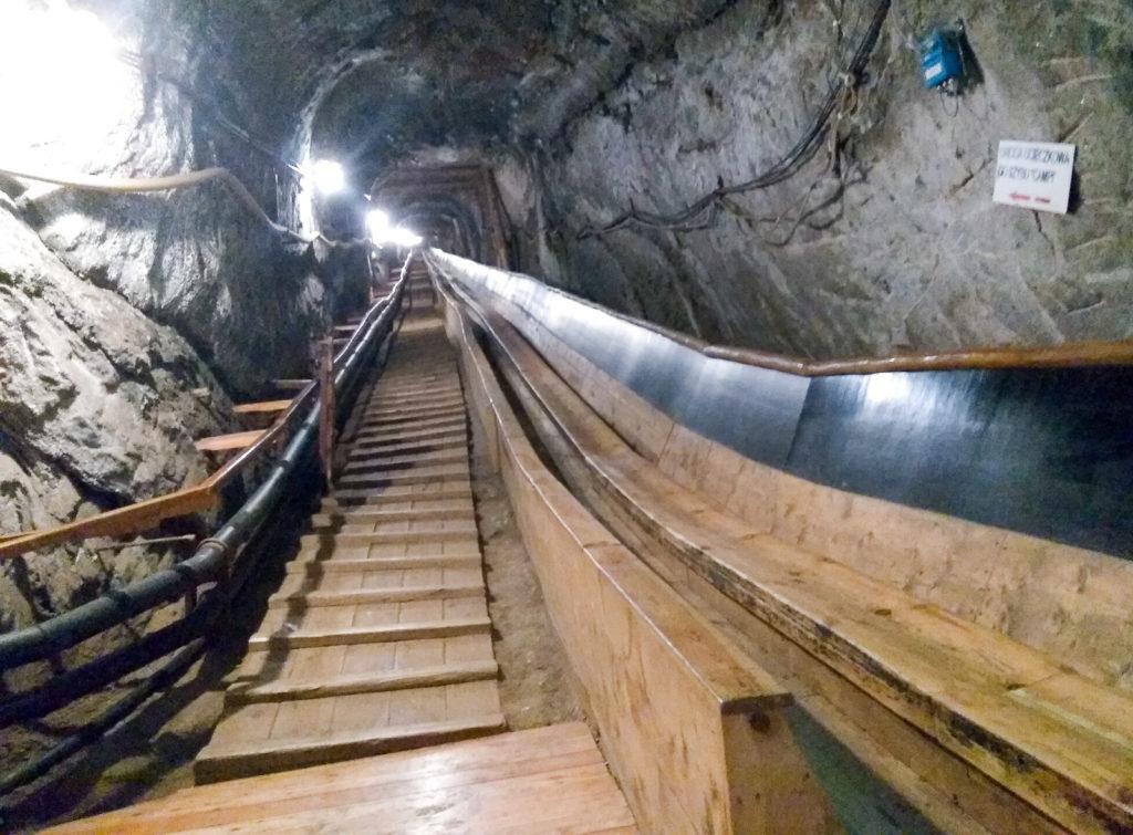 atrakcje dla dzieci krakow kopalnia soli bochnia zjezdzalnia