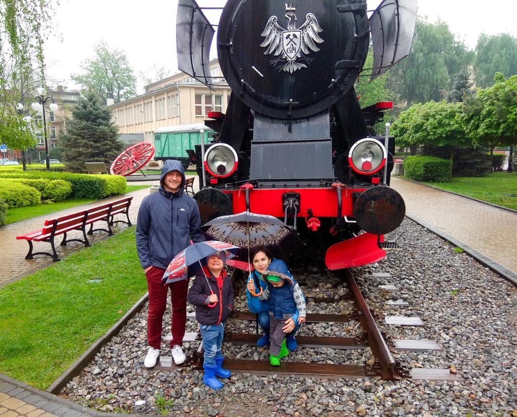 atrakcje dla dzieci krakow lokomotywa agh