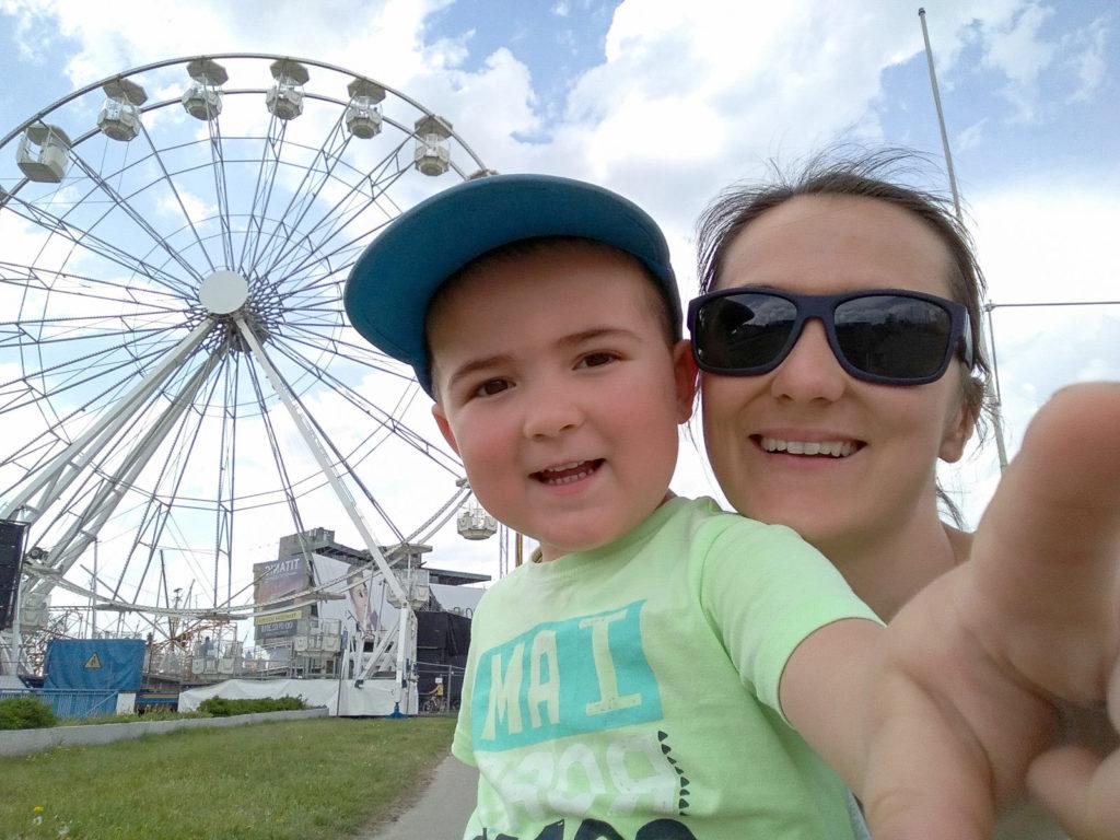 atrakcje dla dzieci krakow lunapark