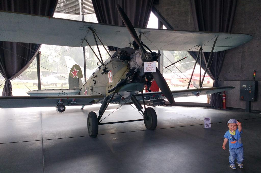 atrakcje dla dzieci krakow muzeum lotnictwa polskiego