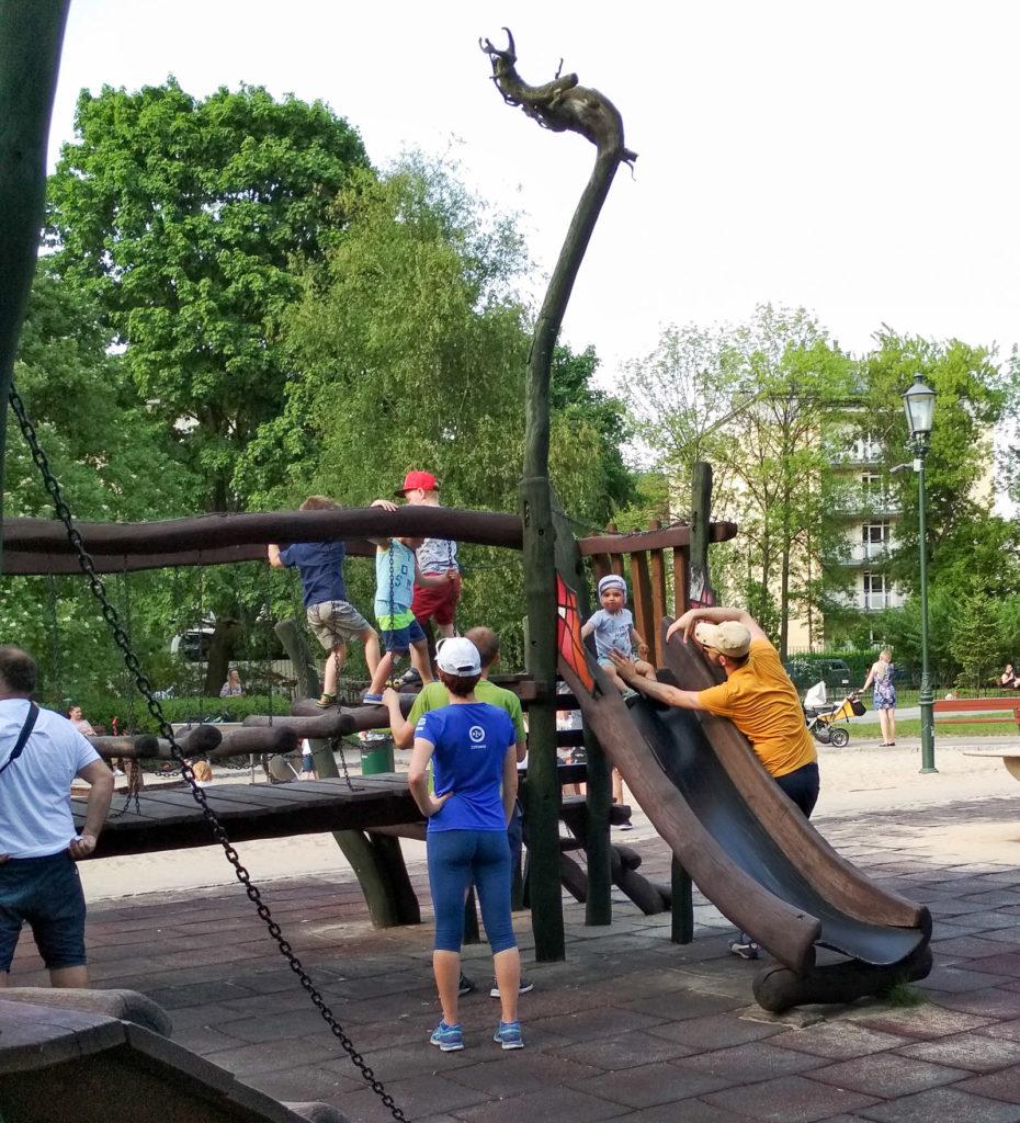 atrakcje dla dzieci krakow park jordana
