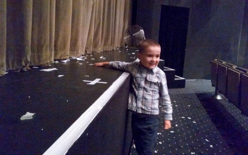 dziecko w teatrze teatr maska rzeszow