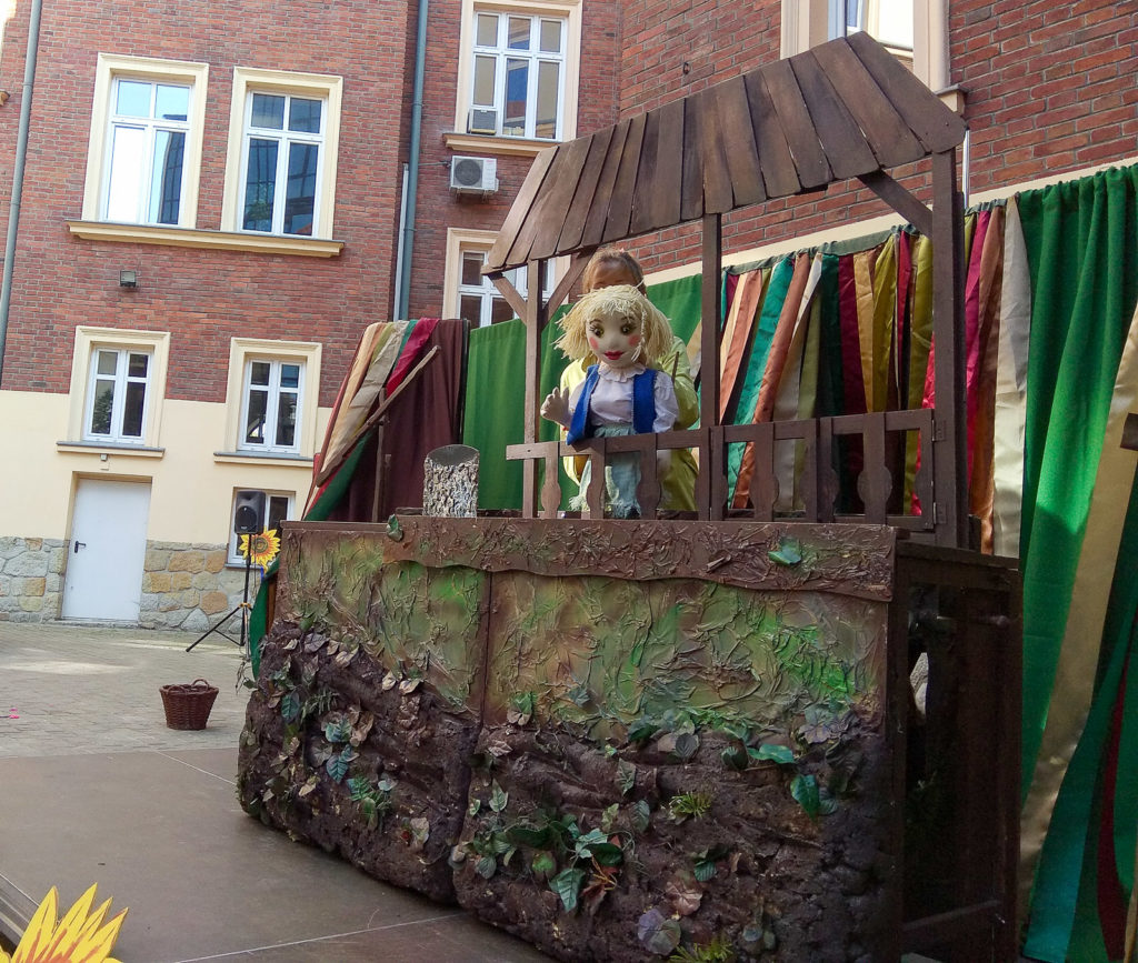 dziecko w teatrze teatr vaska karpackie klimaty krosno