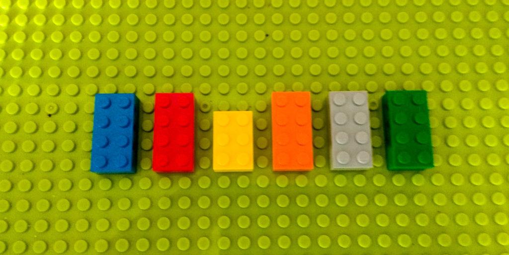kreatywna zabawa klockami wykluczenia lego