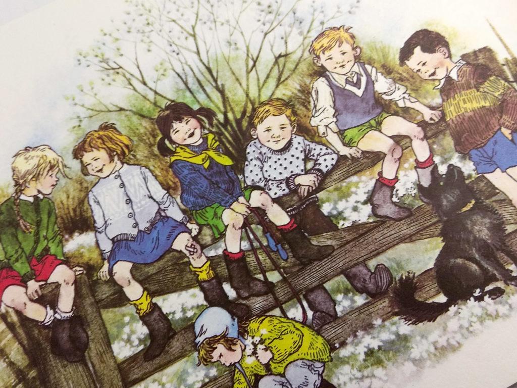 literatura szwedzka dla dzieci astrid lindgren ilon wikland bullerbyn zakamarki
