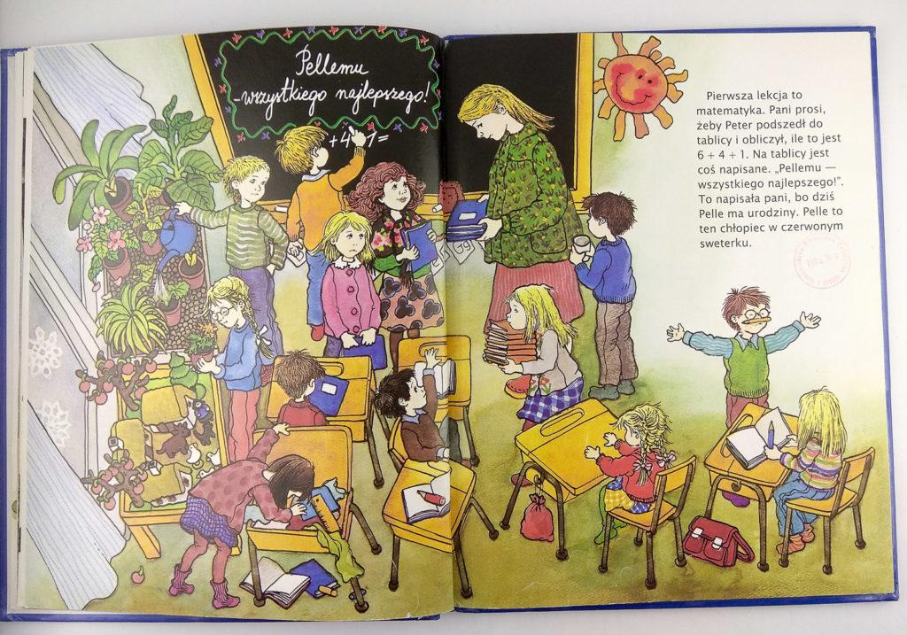 literatura szwedzka dla dzieci astrid lindgren ilon wikland ja tez chce chodzic do szkoly zakamarki
