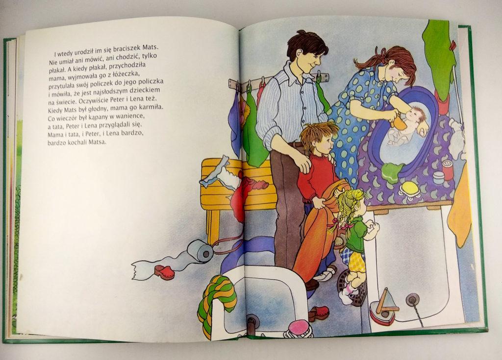 literatura szwedzka dla dzieci astrid lindgren ilon wikland ja tez chce miec rodzenstwo zakamarki