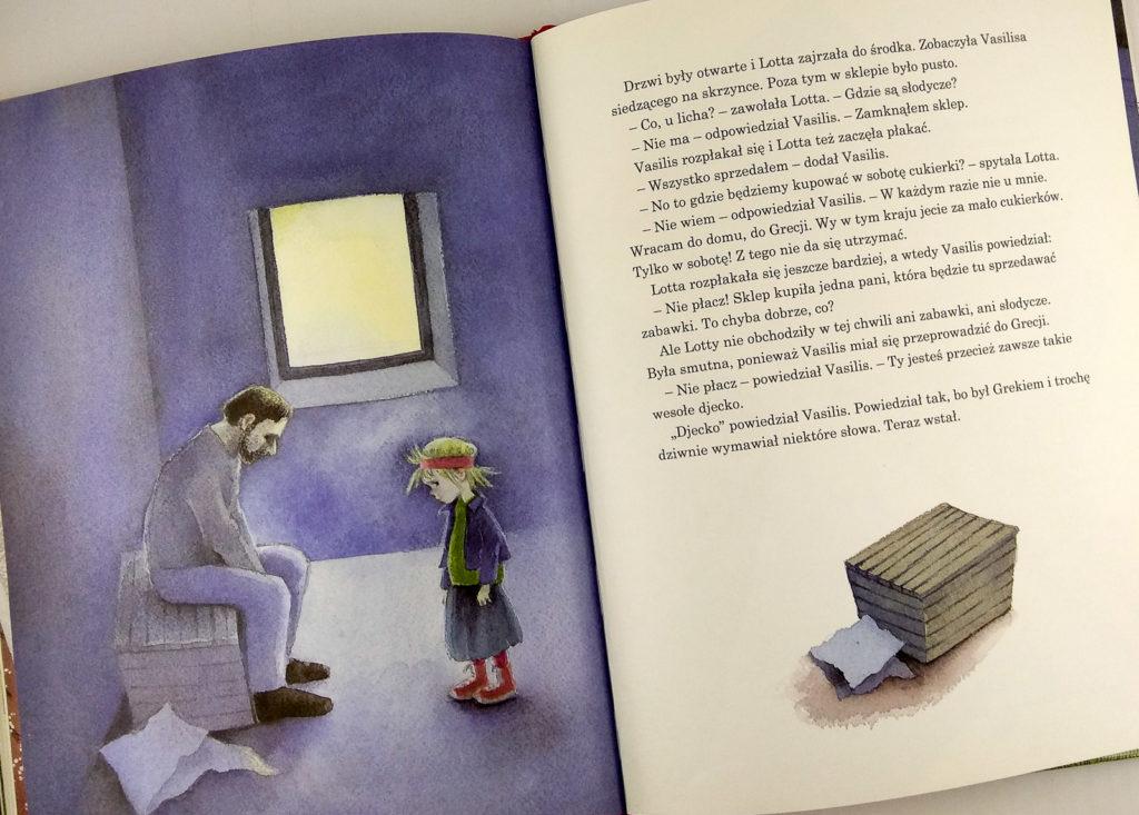 literatura szwedzka dla dzieci astrid lindgren ilon wikland pewnie ze lotta jest szczesliwym dzieckiem zakamarki