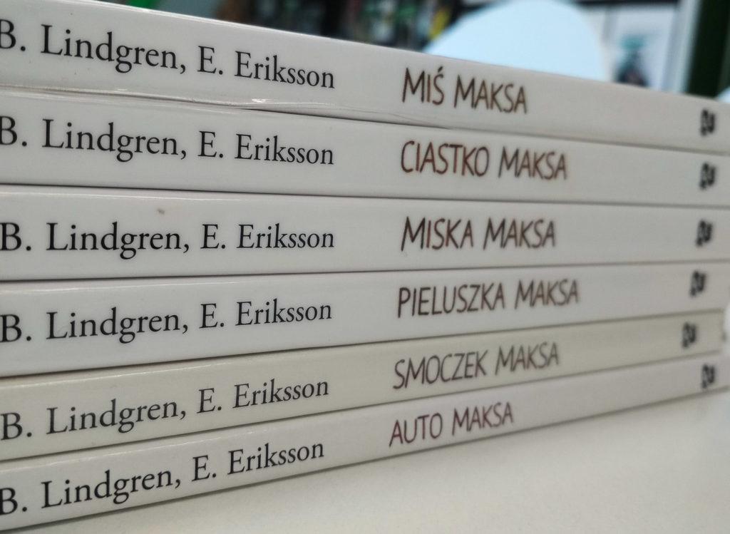 literatura szwedzka dla dzieci barbro lindgren eva eriksson maks seria o maksie zakamarki