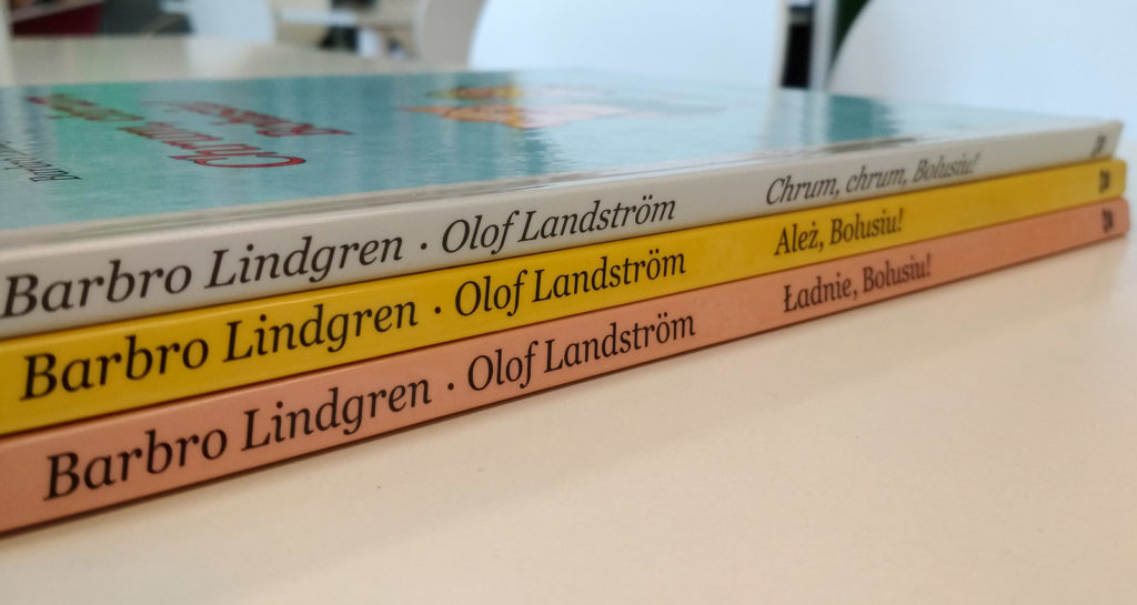 literatura szwedzka dla dzieci barbro lindgren olof landstrom bolus seria o bolusiu zakamarki