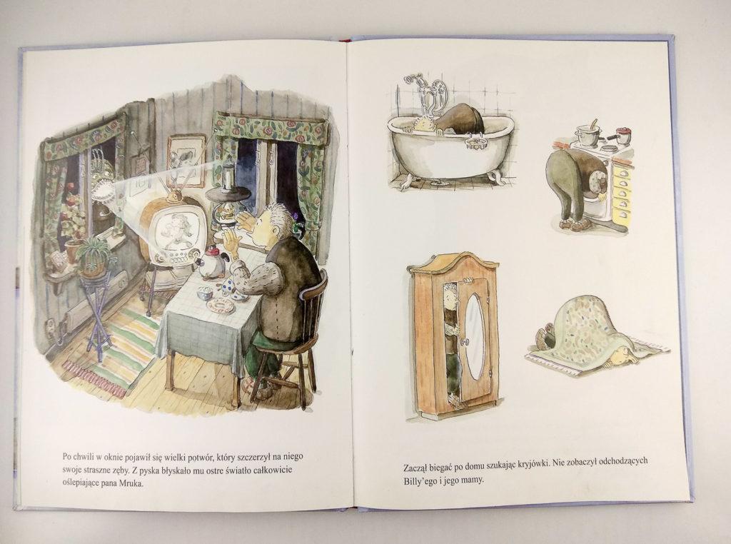 literatura szwedzka dla dzieci birgitta stenberg mati lepp billy i potwor eneduerabe