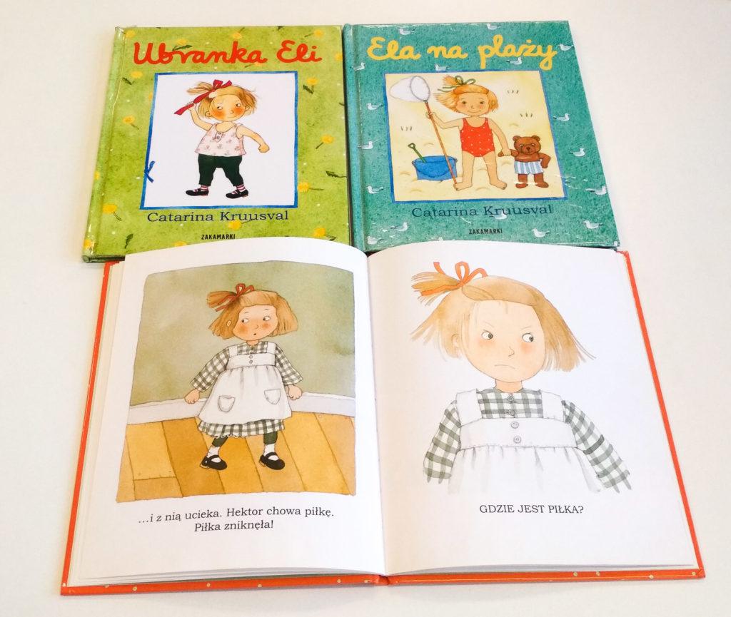 literatura szwedzka dla dzieci catarina kruusva ela zakamarki