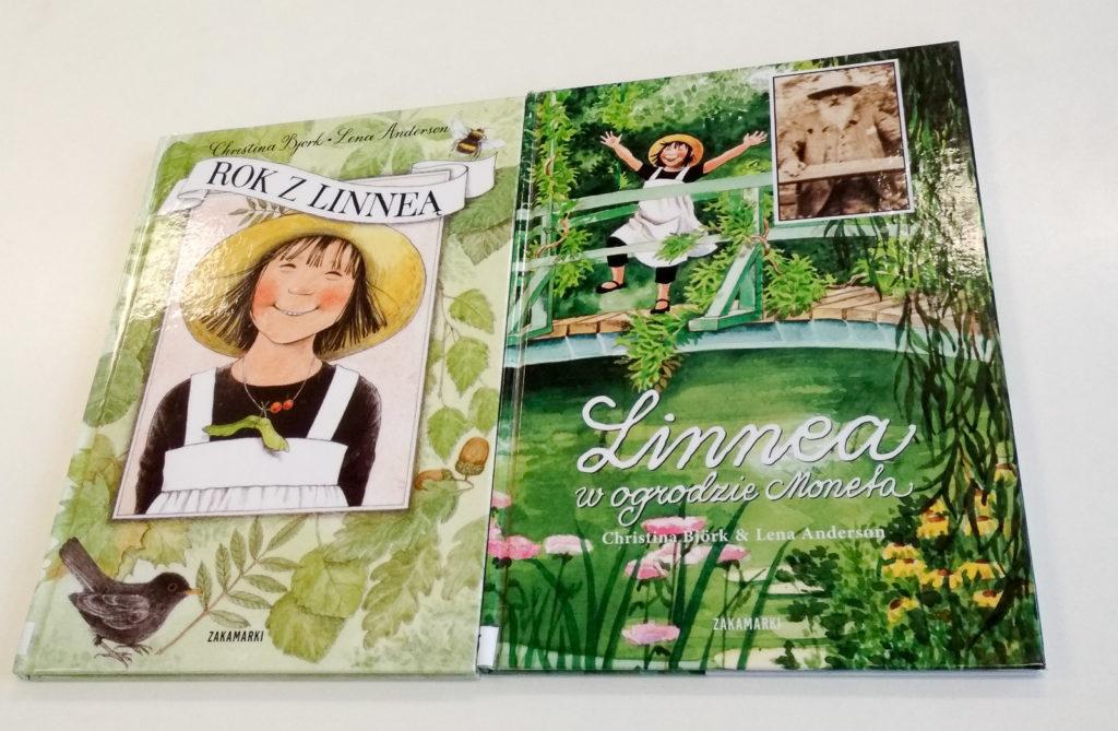 literatura szwedzka dla dzieci christina bjork linnea w ogrodzie moneta rok z linea zakamarki