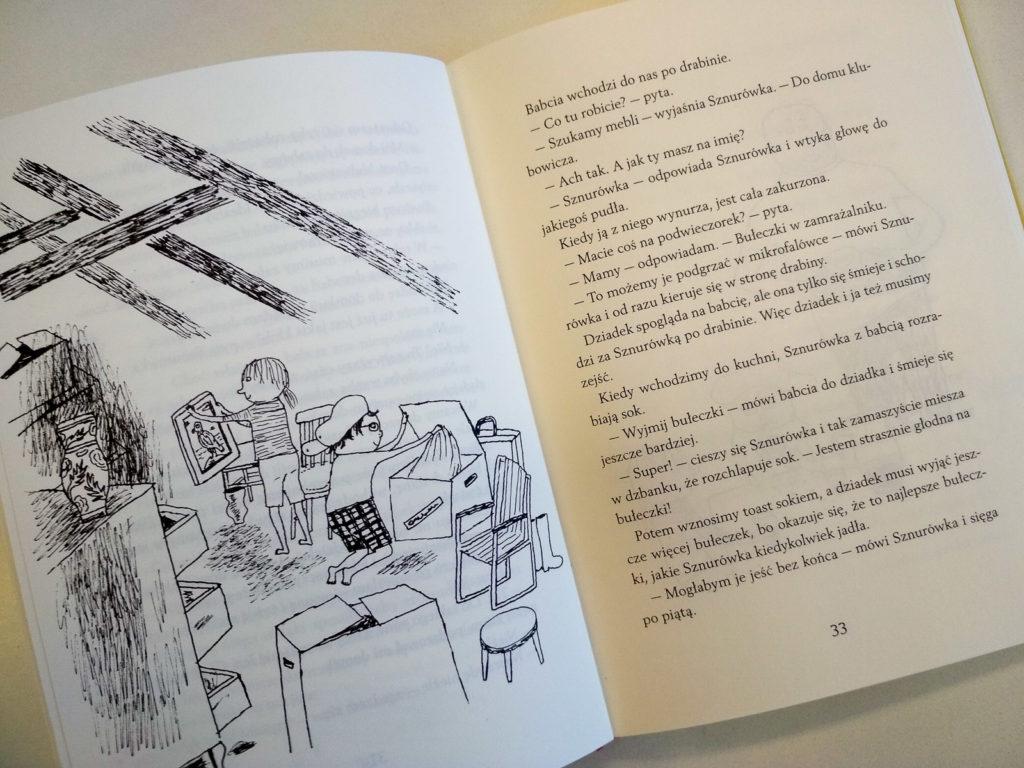 literatura szwedzka dla dzieci ellen karlson eva lindstrom sznurowka ptak i ja zakamarki