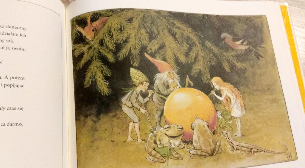 literatura szwedzka dla dzieci elsa beskov sloneczne jajo zakamarki