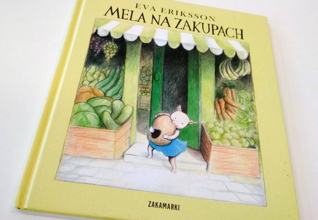 literatura szwedzka dla dzieci eva eriksson mela na zakupach zakamarki