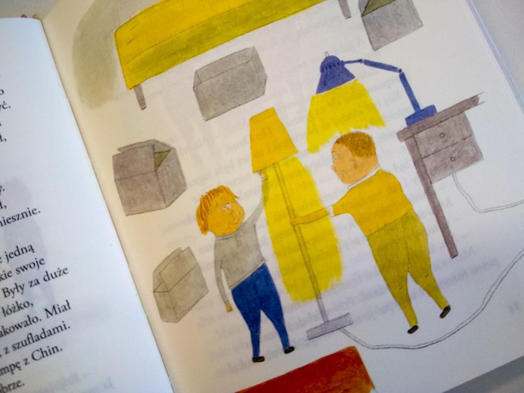 literatura szwedzka dla dzieci eva lindstrom mats i roj ktos sie wprowadza zakamarki