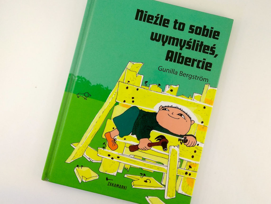 literatura szwedzka dla dzieci gunilla bergstrom albert zakamarki