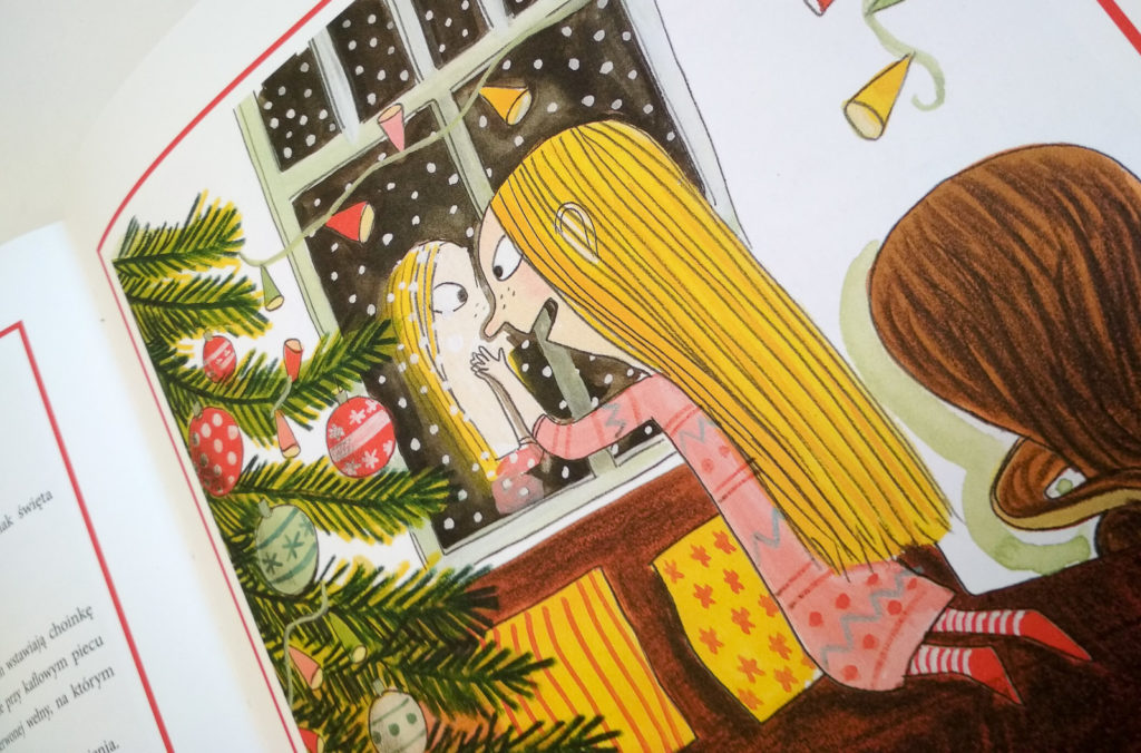 literatura szwedzka dla dzieci lotta olson benjamin chaud wierzcie w mikołaja zakamarki
