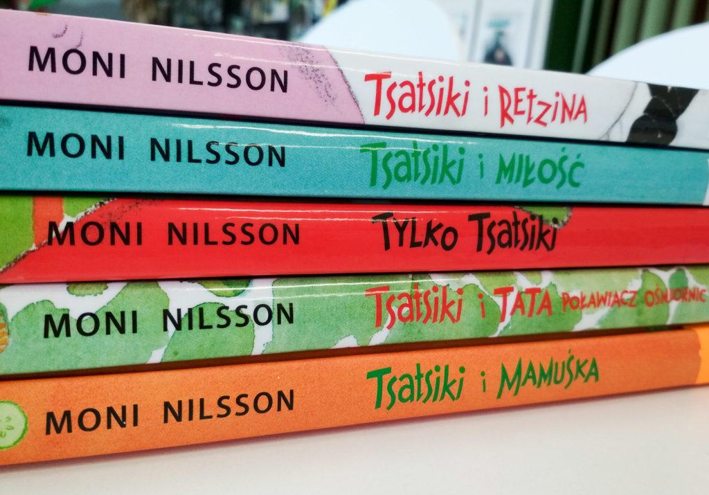 literatura szwedzka dla dzieci moni nilsson pija lindenbaum tsatsiki zakamarki