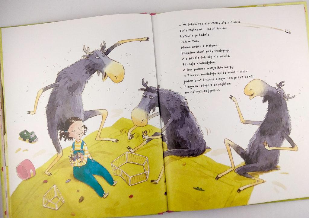 literatura szwedzka dla dzieci pija lindenbaum nusia i bracia losie zakamarki