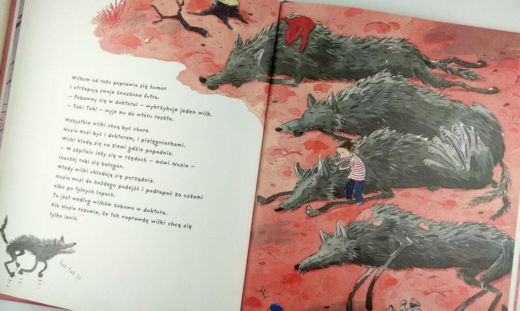 literatura szwedzka dla dzieci pija lindenbaum nusia i wilki zakamarki