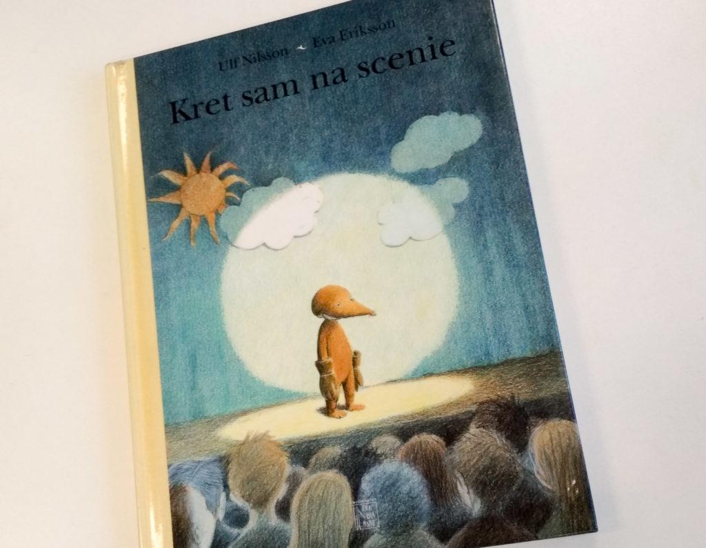 literatura szwedzka dla dzieci ulf nilsson eva eriksson kret sam na scenie zakamarki