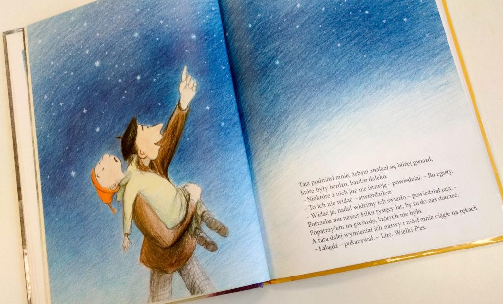 literatura szwedzka dla dzieci ulf stark eva eriksson jak tata pokazal nam wszechwiat zakamarki