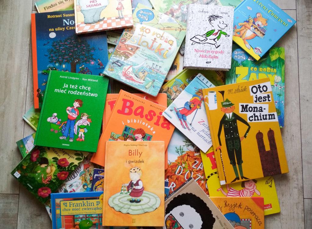 serie ksiazek dla dzieci