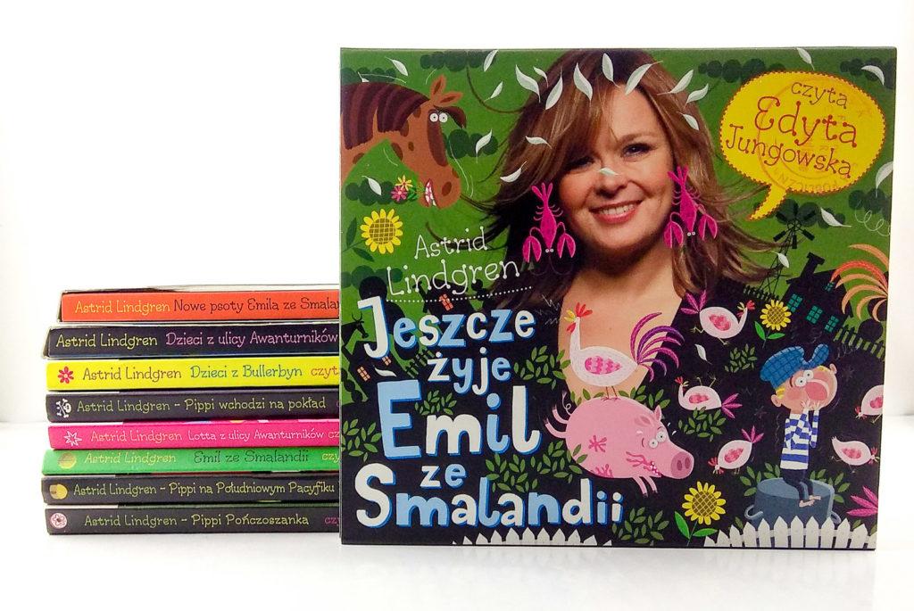 zabawy z dzieckiem w podrozy audiobook edyta jungowska astrid lindgren