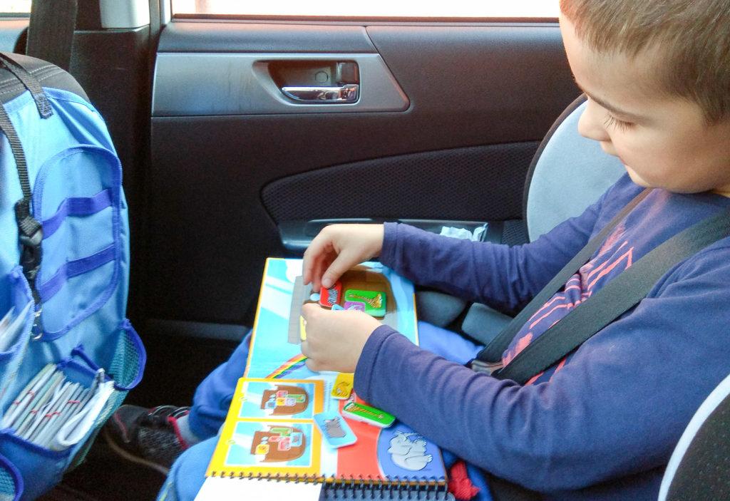 zabawy z dzieckiem w podrozy gra magnetyczna arka noego
