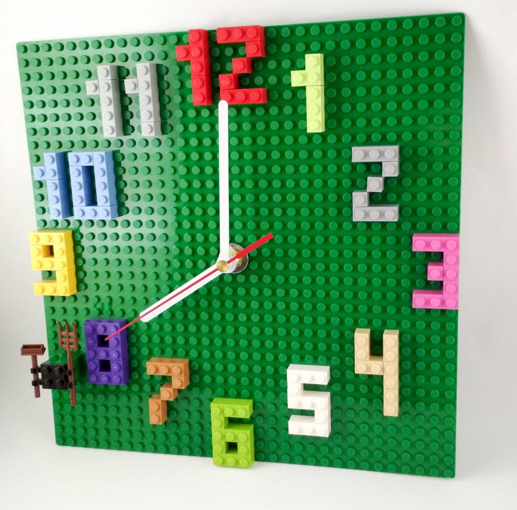 zegar lego diy lego clock