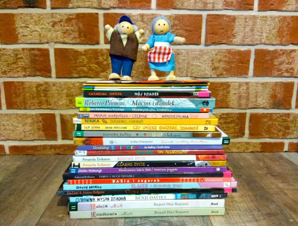 babcia i dziadek w literaturze dla dzieci