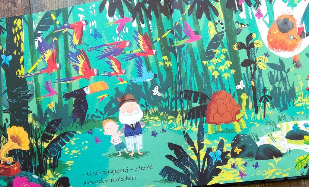 cudowna wyspa dziadka benji davies dziadek w ksiazce dla dzieci