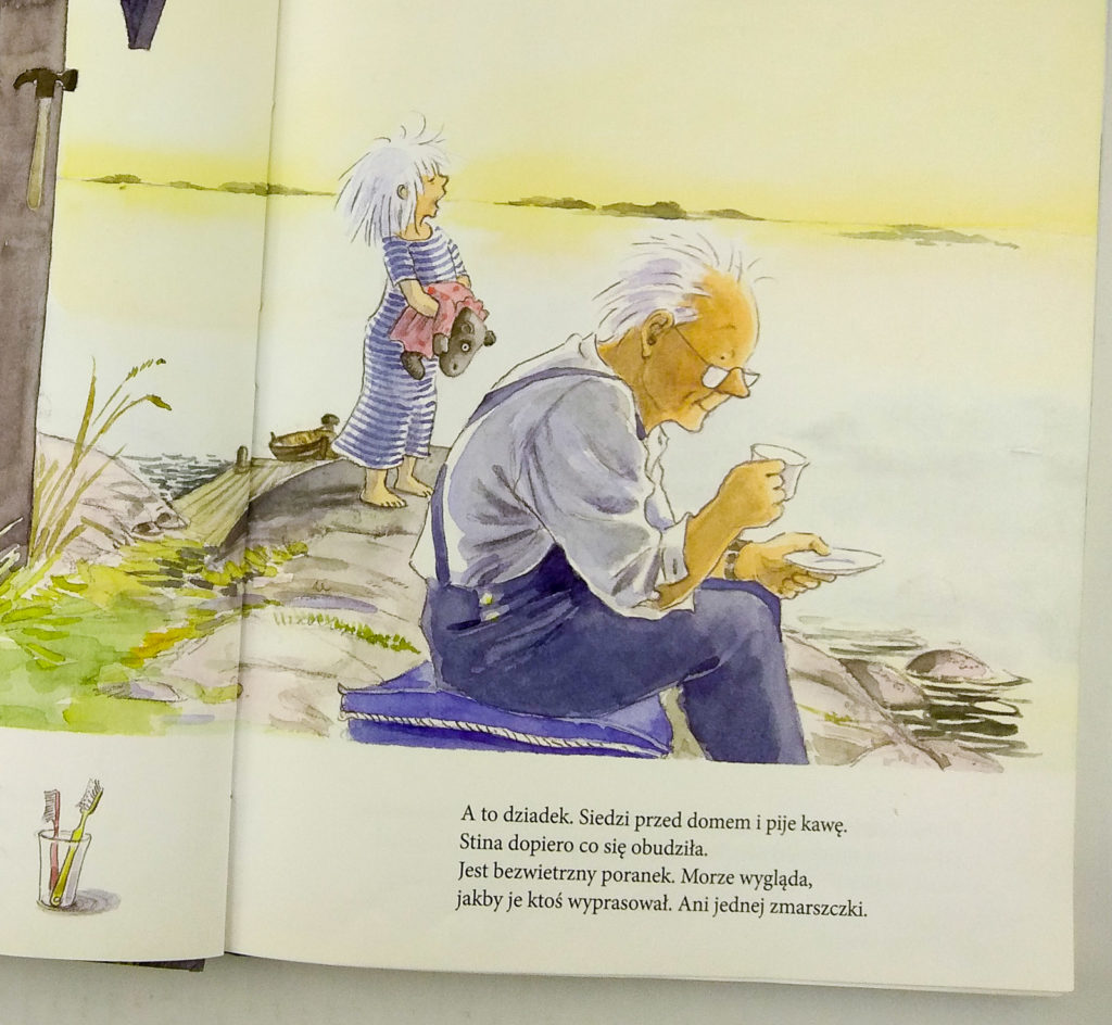 lato stiny nina anderson dziadek w ksiazce dla dzieci