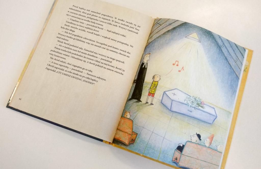 literatura szwedzka dla dzieci ulf stark anna hoglund czy umiesz gwizdac joanno zakamarki