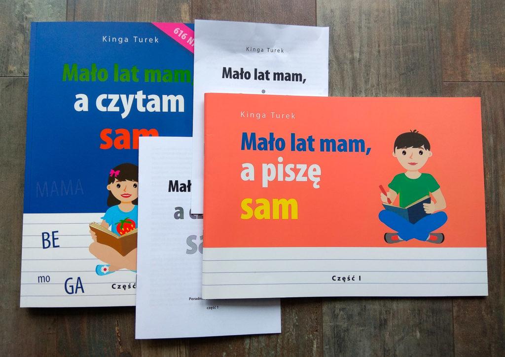 malo lat mam a czytam i pisze sam