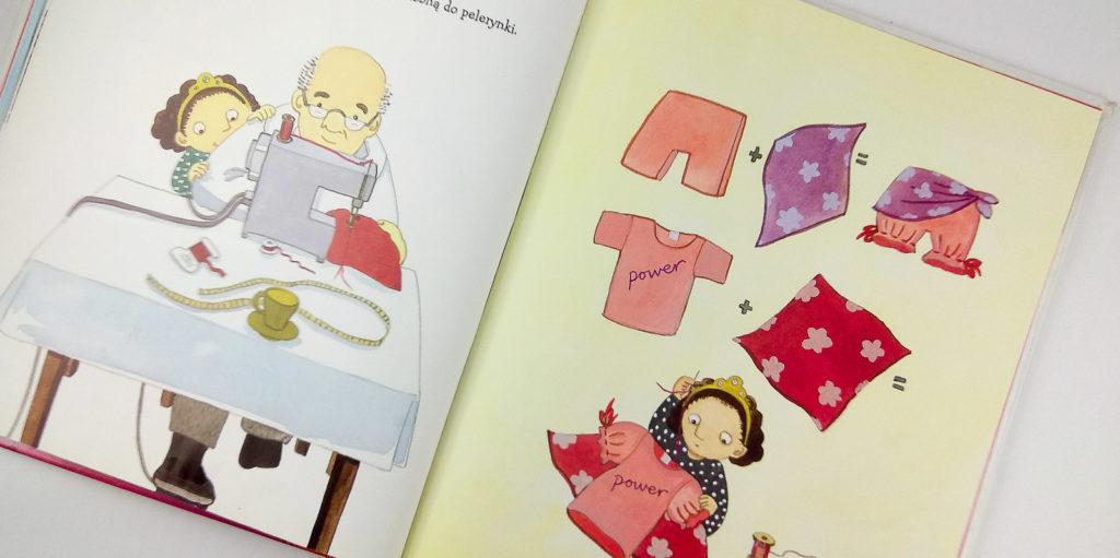 rozowe zycie amanda eriksson dziadek w ksiazce dla dzieci
