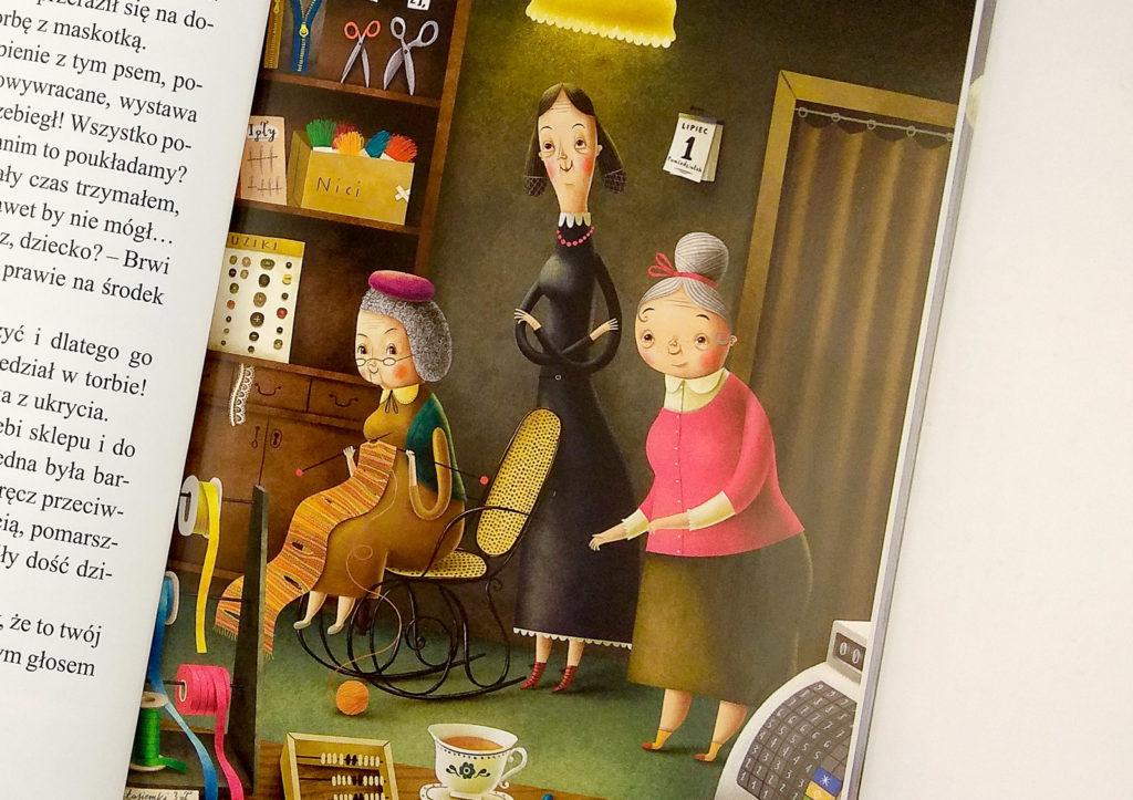 sklep z babciami dominika galka babcia w ksiazce dla dzieci