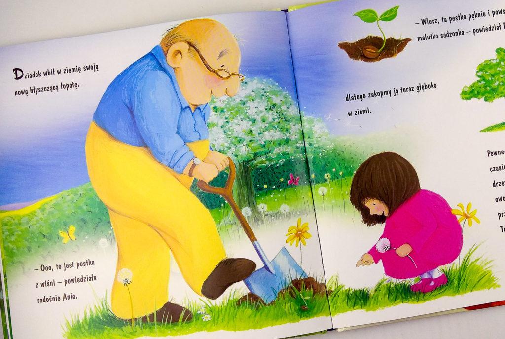 urodziny dziadka jan godfrey dziadek w ksiazce dla dzieci
